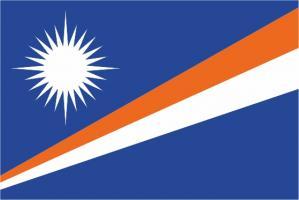 Флаг Маршалловых островов