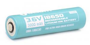 Аккумулятор Li-ion Olight ORB-186C30 18650 3,7 В. 3000 mAh