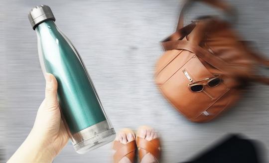 Бутылка Asobu Viva La Vie (0,54 литра), бирюзовая