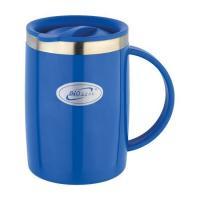 Кружка Biostal Fl?r (0,5 литра) с крышкой, синяя