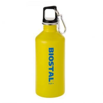 Бутылка Biostal Fl?r (0,75 литра) пробка с карабином, желтая