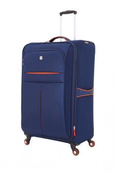 Чемодан Wenger Arosa, синий, 71x23x45,7 см, 75 л