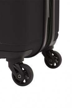 Чемодан Wenger Uster, черный, 34x22,5x49 см, 37 л