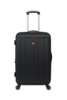 Чемодан Wenger Uster, черный, 41x26x59 см, 63 л
