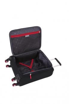 Чемодан Wenger Arosa, черный, 48,3x18x34,4 см, 30 л