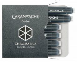 Carandache Чернила (картридж), черный, 6 шт в упаковке