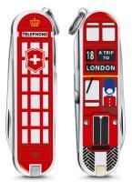 "Нож-брелок Victorinox Classic LE 2018, 58 мм, 7 функций, ""A Trip to London"""