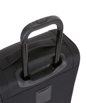 Чемодан Wenger Getaway, черный, 35x20x63 см, 44 л