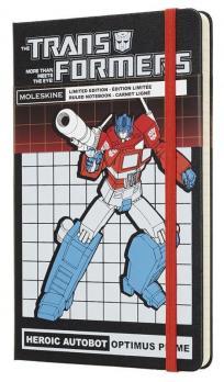 Блокнот Moleskine Transformers LE, цвет черный, в линейку