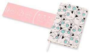Блокнот Moleskine Pokemon LE, цвет розовый, в линейку