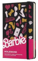 Блокнот Moleskine Barbie LE, цвет черный, без разлиновки