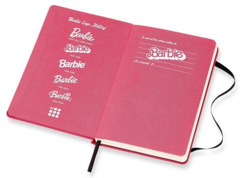 Блокнот Moleskine Barbie LE, цвет розовый, в линейку