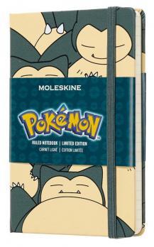 Блокнот Moleskine Pokemon LE, цвет зеленый, в линейку