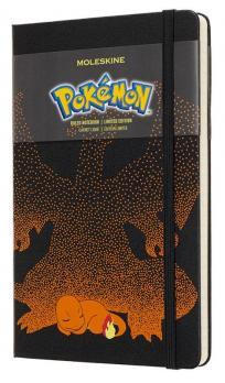 Блокнот Moleskine Pokemon LE, цвет черный, в линейку