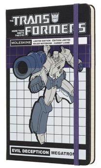 Блокнот Moleskine Transformers LE, цвет синий, в линейку