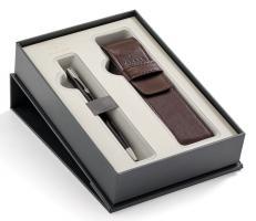Набор подарочный Parker Sonnet - LaqBlack CT, шариковая ручка + чехол