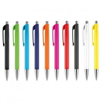Упаковка 10 штук! Carandache Office Infinite - White, шариковая ручка, M