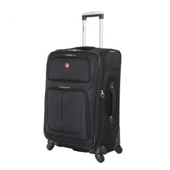 Чемодан Wenger Sion, чёрный, 41x26x70 см, 56 л