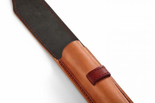 Чехол для ручки кожаный Parker, коричневый
