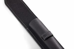 Чехол для ручки кожаный Parker, черный