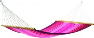 Гамак одноместный Aruba в розовую полоску