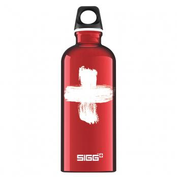 Бутылка Sigg Swiss (0,6 литра), красная