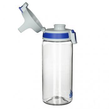 Бутылка Sigg Total Clear One (0,5 литра), бело-голубая