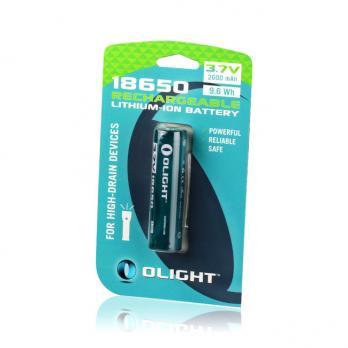 Аккумулятор Li-ion Olight ORB-186P26 18650 3,7 В. 2600 mAh