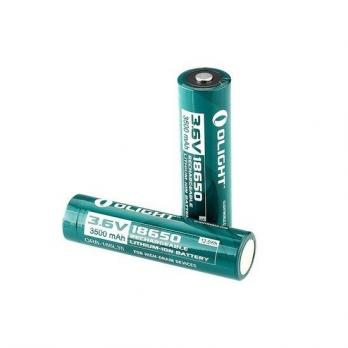 Аккумулятор Li-ion Olight ORB-186P35 18650 3,7 В. 3500 mAh