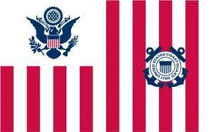 Флаг организации Береговая охрана США