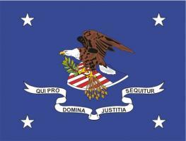 ФЛАГ МИНИСТРА (ДЕПАРТАМЕНТА) ЮСТИЦИИ США
