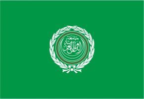 Флаг организации Лига Арабских государств