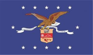 Флаг организации Министерство труда США