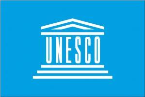 Флаг Организации Объединённых Наций по вопросам образования, науки и культуры(ЮНЕСКО)