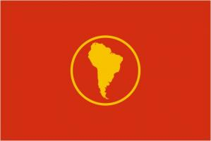 Флаг Организации Региональная политическая и экономическая организация государств Южной Америки