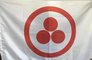 Флаг Организации Символ Пакта Рериха(Знамя Мира)