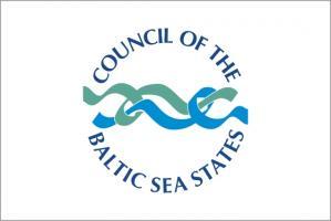 Флаг Организации Совет государств Балтийского моря