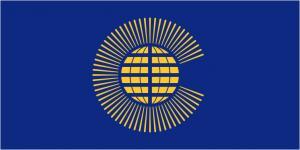 Флаг Организации Содружество наций2