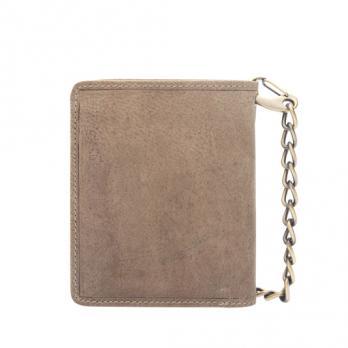 Бумажник Klondike Wayne Bear, коричневый, 10,5x12,5 см
