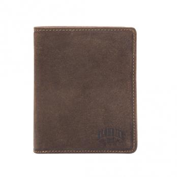 Бумажник Klondike Eric, коричневый, 10x12 см
