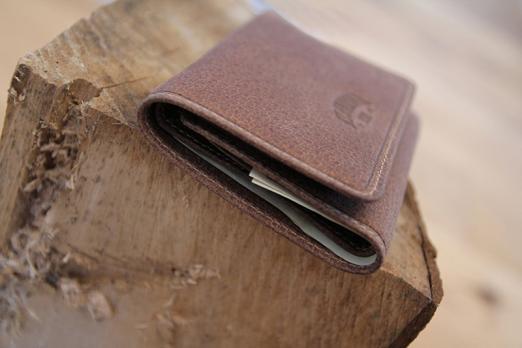 Бумажник Klondike Jane, коричневый, 11x8,5x1,5 см