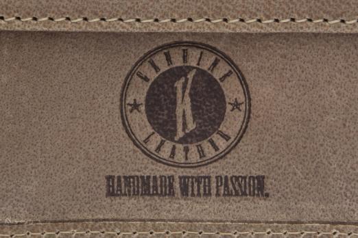 Бумажник Klondike Tony, коричневый, 12x9 см