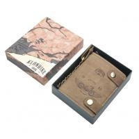 Бумажник Klondike Tim Bike, коричневый, 10,5x12,5x2,5 см