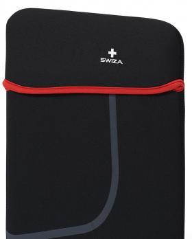 """Чехол для ноутбука SWIZA Moranda 13"""", цвет черный с красным"""