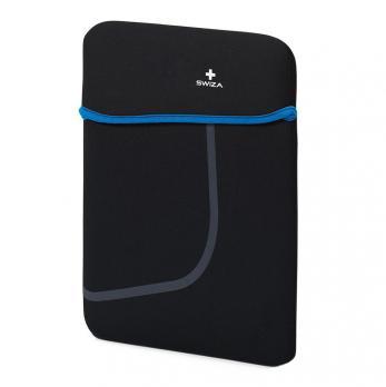 """Чехол для ноутбука SWIZA Moranda 13"""", цвет черный с синим"""