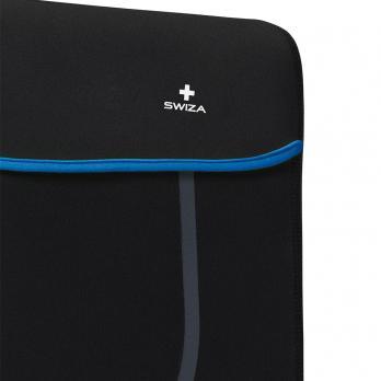 """Чехол для ноутбука SWIZA Moranda 15"""", цвет черный с синим"""