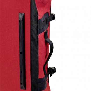 Сумка на колесах SWIZA Continuas L, красная с черным