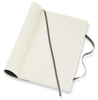 Блокнот Moleskine Classic Soft, цвет коричневый, без разлиновки