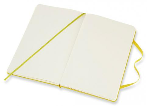 Блокнот Moleskine Classic, цвет желтый, без разлиновки