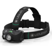 Фонарь светодиодный налобный LED Lenser MH8, черный, 600 лм, аккумулятор